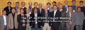 the 4th AOFSRR Conference @ SSRF, Shanghai