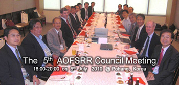 the 5th AOFSRR Conference