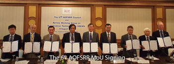the 6th AOFSRR Conference